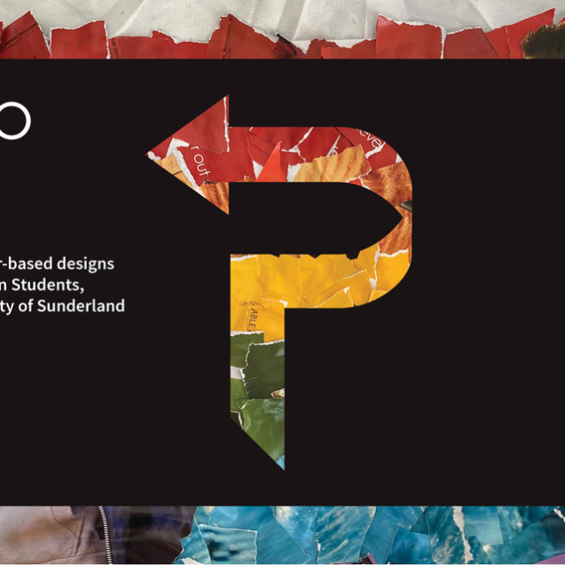 Exhibition of paper-based designs