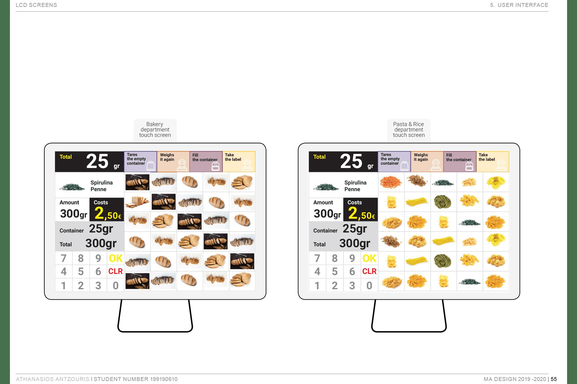 Athanasios Antzouris. Barestock package free supermarket
