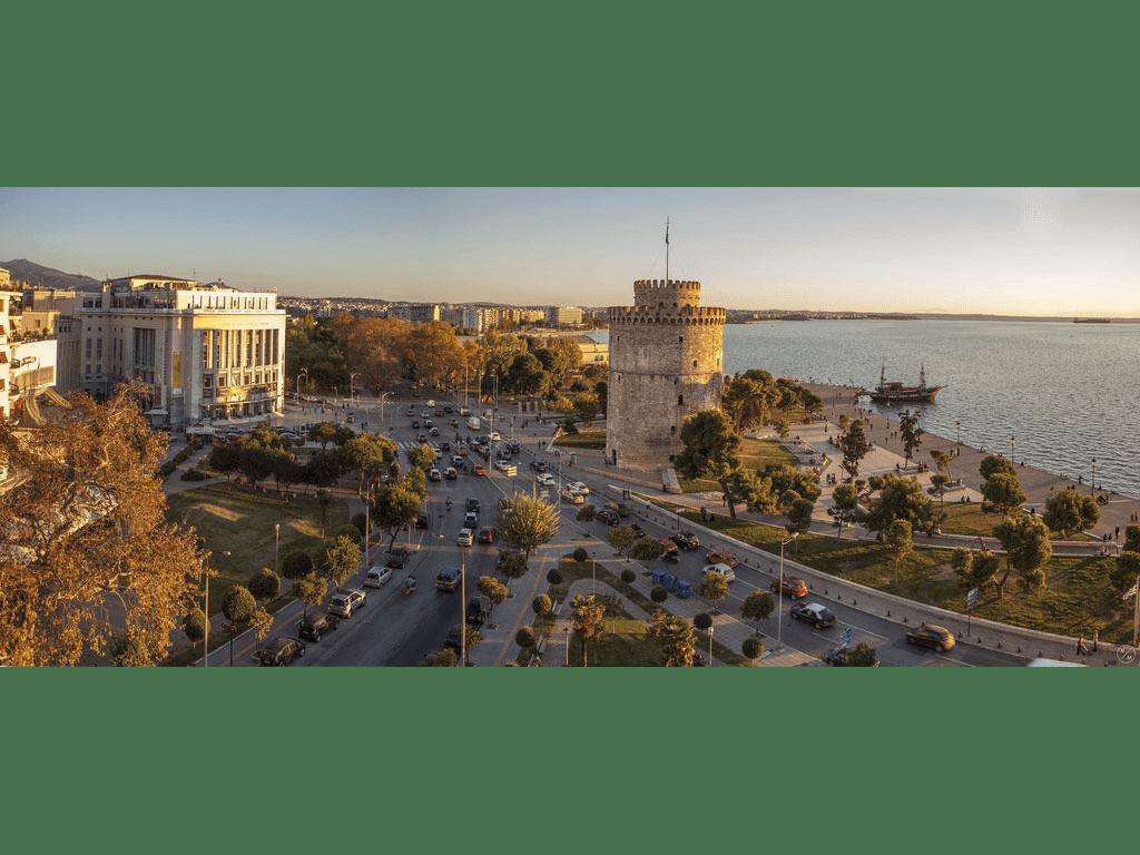 Thessaloniki landmark White tower