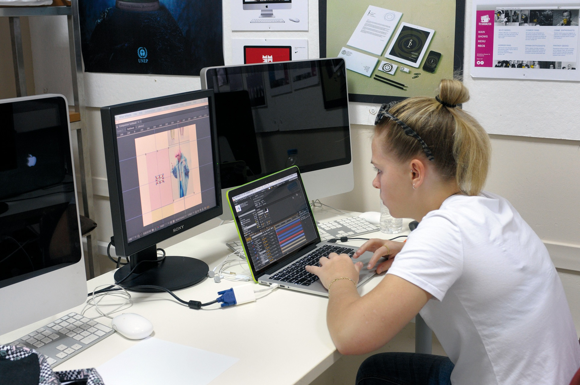 Access to the full range of dedicated art and design facilities