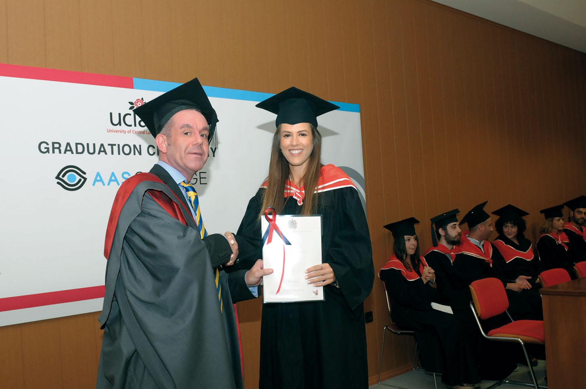 British programmes and award British Degree graduation-ceremony