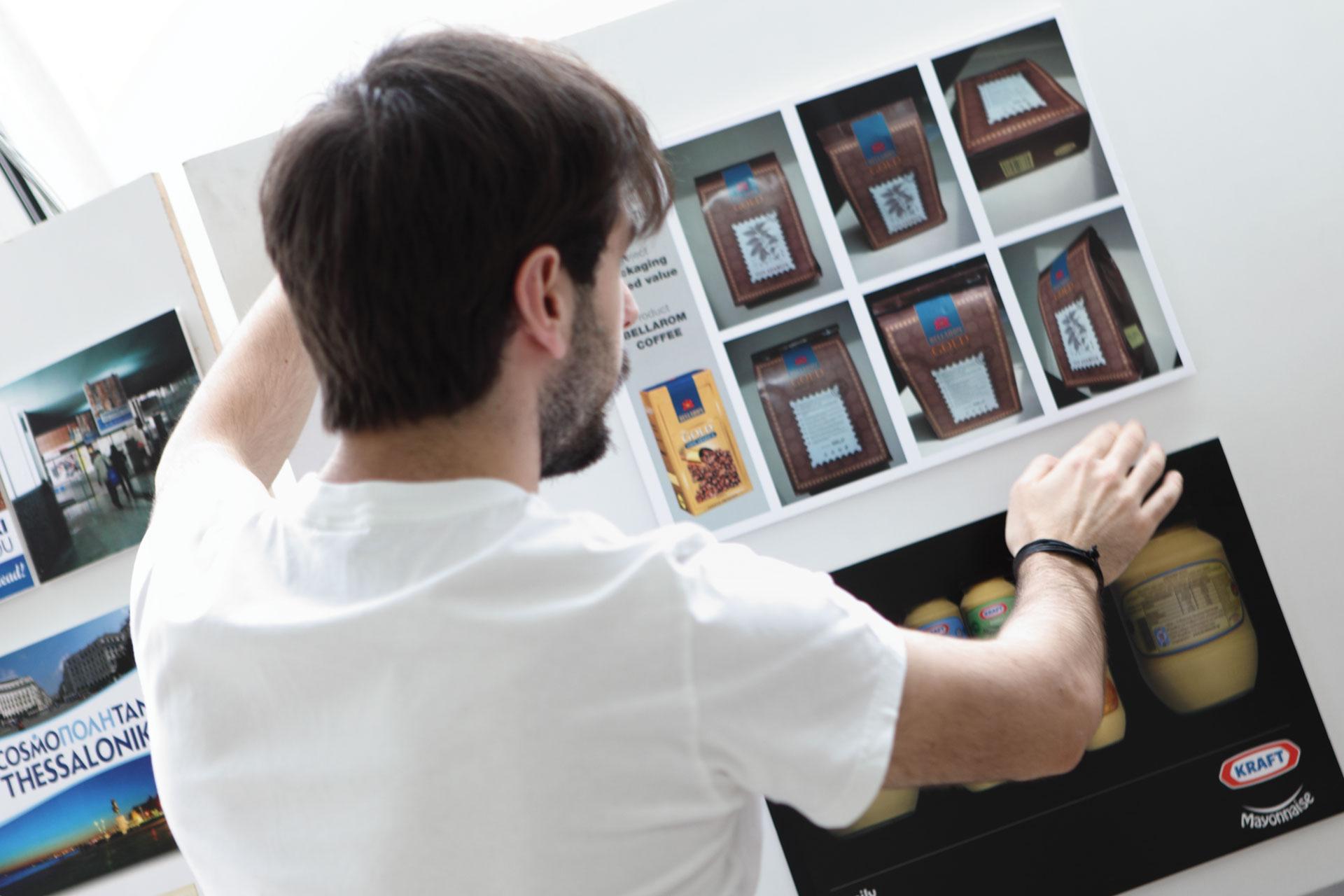 Graduate with a portfolio of design work to impress prospective employers